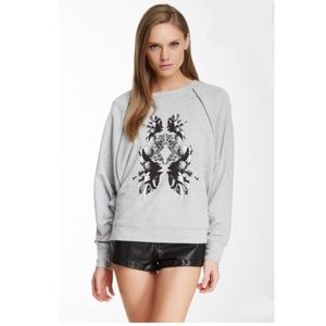 Robert Rodriguez Graphic Zipper Dolman Sweatshirt